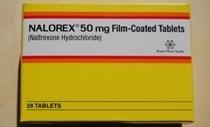 Naltrexone/Nalorex - farmakologiczne leczenie alkoholizmu